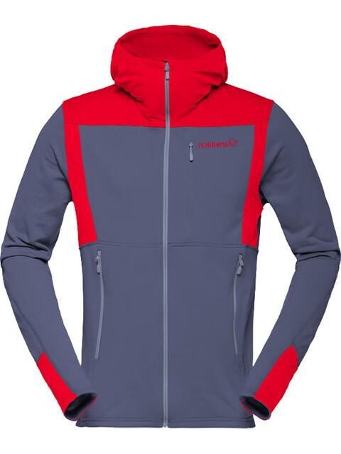 Norrøna M's Falketind Warm1 Strech Zip Hoodie Cool Black